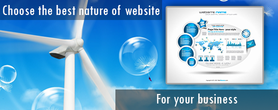 Choose the Best Natured of Website for Your Business