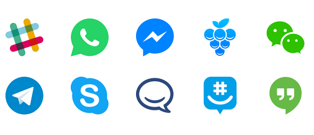 messaging-apps-collage