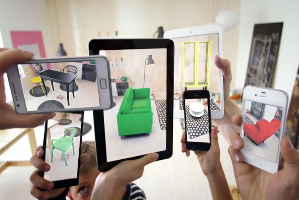 Augmented-reality-Ikea furniture