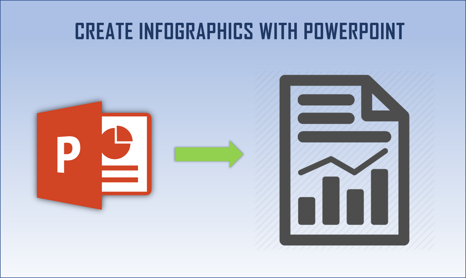 Creating infographic in powerpoint