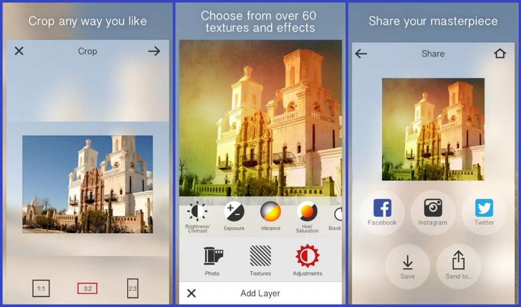Features of Photo app