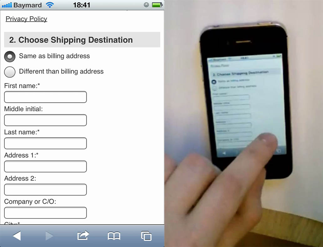 mobile-ecommerce-checkout-forms