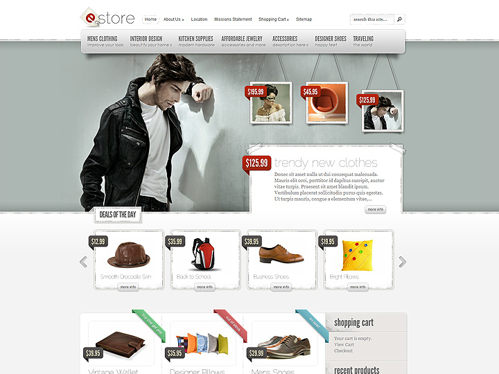 wordpress-e-commerce-website