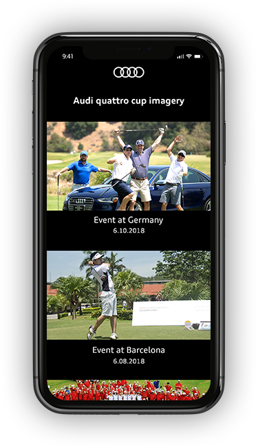 AUDI QUTTRO CUP Screen