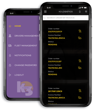 K3 Logistic App Development