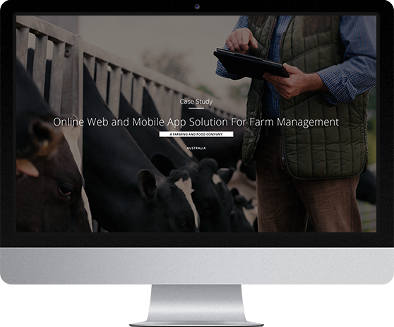 Online Web and Mobile App Solution For Farm Management