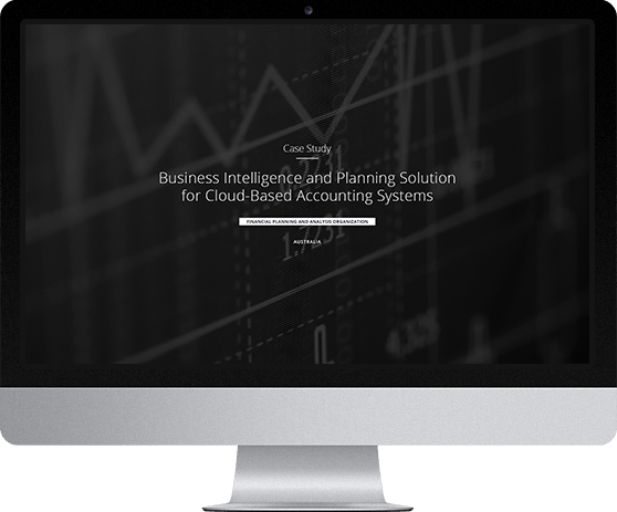Business Intelligence and Planning Solution