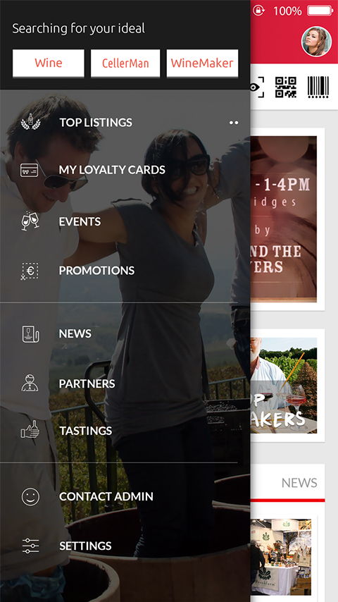 Android Application for Wine Lovers