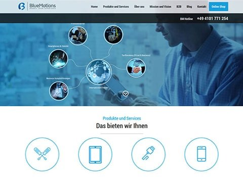 Bluemotion – Zealous Portfolio