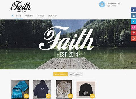 Just by Faith - Zealous Portfolio
