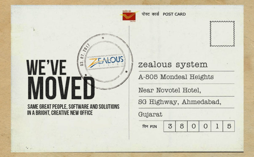 Zealous System Relocated