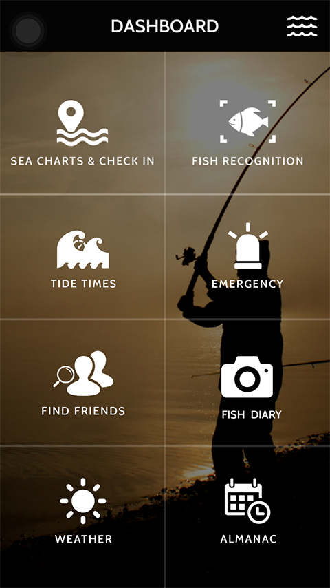 Fishing Application Portfolio