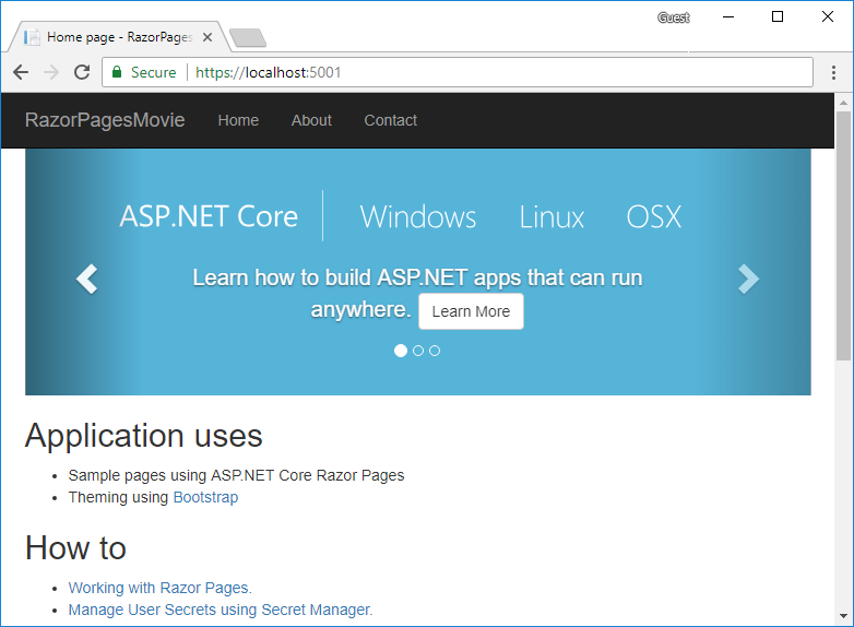 How to Implement CRUD Operations in ASP NET Core to Develop Razor